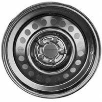 92-94 Pontiac Sunbird, 92-98 Pontiac Grand Am, 94-96 Chevrolet Beretta, 95-05 Chevrolet Cavalier, 95-05 Pontiac Sunfire, 95-98 Olsmobile Achieva Capital Factory Wheel - 15x6, 5 lug, 100mm bolt pattern steel wheel