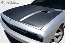 Sm Challengerccsrthood on Dodge Dakota Custom Hoods
