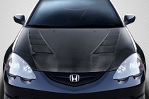 Carbon Fiber Hoods For Acura Rsx At Andys Auto Sport - Acura rsx carbon fiber hood