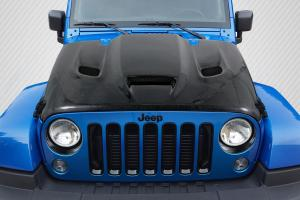 Jeep Wrangler Carbon Fiber Hoods at Andy's Auto Sport