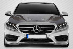 Mercedes C-class Carbon Fiber Hoods at Andy's Auto Sport
