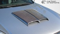 2001-2003 Mazda Protege Carbon Creations Ram Air Scoop 2