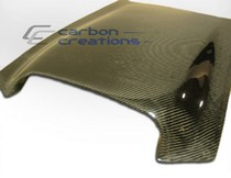 All Jeeps (Universal), Universal - Fits all Vehicles Carbon Creations Scoops - Hood / Roof Scoop 1 (Carbon Fiber)
