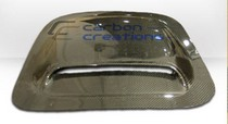 2001-2003 Mazda Protege Carbon Creations Scoops - Hood / Roof Scoop 2 (Carbon Fiber)