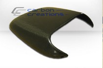2001-2003 Mazda Protege Carbon Creations Scoops - Hood / Roof Scoop 4 (Carbon Fiber)