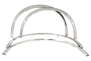 CHRYSLER PT CRUISER 2001-2010 TFP Polished Stainless Steel Fender Trim Molding