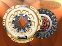 "1993-1997 Ford Probe Centerforce Clutch Kit - Centerforce I, Size 8 7/8"", 22 Spline By 15/16"" Incl. Pressure Plate, Clutch Disc w/o Throwout Bearing"