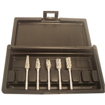 2008-9999 Audi S5 Champion Cutting Tools 5 Piece Non Ferrous Carbide Bur Set, 1/4 in. Shank