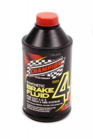 All Vehicles (Universal) Champion Dot 4 Brake Fluid - 12 oz. (Case)