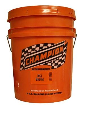 All Vehicles (Universal) Champion Dot 3 Brake Fluid - 5 Gallons