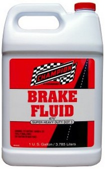 All Vehicles (Universal) Champion Dot 3 Brake Fluid - 1 Gallon (Case)