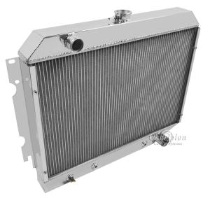 1965-1966 Plymouth Valiant//Signet V8 Aluminum 3 Row Champion Radiator