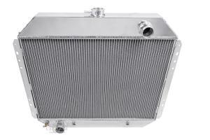Champion Racing 4 Row Aluminum Radiator For 1960-66 Ford//Mercury Cars