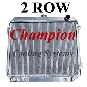 1970 1971 1972 1973 1974 Dodge Challenger 3 Row Champion WR Radiator