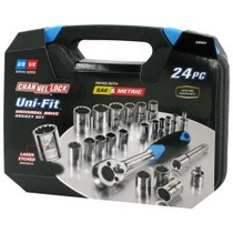 1991-1996 Saturn Sc Channellock 24 Piece Uni-Fit Socket Set