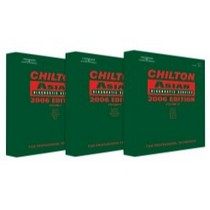 2004-2006 Chevrolet Colorado Chiltons Book Company 3 Piece Asian Service and Repair Manual Set for 2002-2006