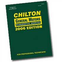 2006-9999 Mercury Mountaineer Chiltons Book Company Chilton 2006 GM Diagnostic Service Manual