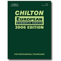 1968-1976 BMW 2002 Chiltons Book Company Chilton 2006 European Diagnostic Manual