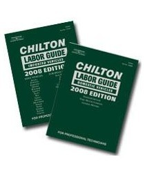 2000-2005 Lexus Is Chiltons Book Company 2 Piece Chilton Labor Guide 2008 Edition Domestic and imported Set