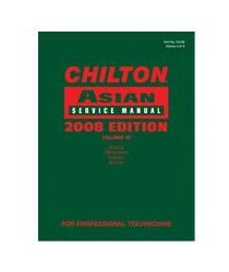 2000-2005 Lexus Is Chiltons Book Company Chilton 2008 Asian Service Manual Volume 4