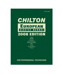 1967-1970 Pontiac Executive Chiltons Book Company Chilton 2008 European Service Manual