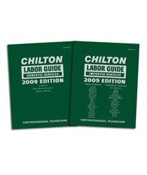 2000-2005 Lexus Is Chiltons Book Company Chilton 2009 Labor Guide Manuals