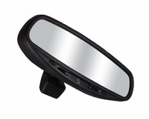 1970-1976 Dodge Dart CIPA Wedge Base Auto Dimming Rearview Mirror with Compass