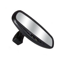 2002-2006 Mini Cooper CIPA Wedge Base Auto Dimming Rearview Mirror with Compass and Temperature
