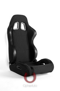 All Cars (Universal), All Jeeps (Universal), All Muscle Cars (Universal), All SUVs (Universal), All Trucks (Universal), All Vans (Universal) Cipher Racing Seats - Black Cloth