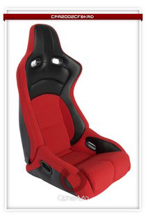 All Cars (Universal), All Jeeps (Universal), All Muscle Cars (Universal), All SUVs (Universal), All Trucks (Universal), All Vans (Universal) Cipher Viper Series Racing Seats - Red Black Cloth/Polyurethane Leather with Carbon Fiber Polyurethane