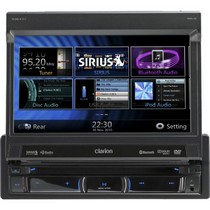 1968-1984 Saab 99 Clarion DVD Multimedia Station With Navigation & 7Inch Touch Screen