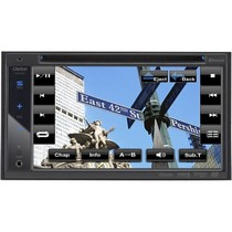 1996-1998 Suzuki X-90 Clarion 2-Din DVD Multimedia Station With 6.2-Inch High Resolution Touch Panel Control