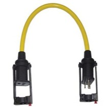 1973-1977 Pontiac LeMans Clip Light Manufacturing Extension Cord E Zee Lock M-F With Extension