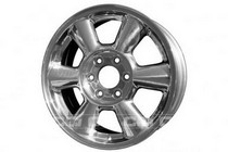 2003-2008 Isuzu Ascender Coast to Coast Polished Face Wheels - 6 Spoke - 17x7 - 6 Lug