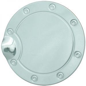 Velocity Concepts Chrome Aluminum Fuel Gas Door Cover Cap Lock Key 02-09 Dodge Ram 1500 2500 3500