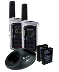 All Jeeps (Universal), Universal Cobra Two-Ways Radio - microTALK® LI 6000-2 WX 17-Mile Radio With Weather
