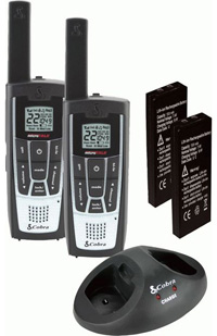 All Jeeps (Universal), Universal Cobra Two-Ways Radio - microTALK® LI 7200-2 WX 27-Mile Radio with Weather