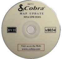 2008-9999 Subaru Impreza Cobra Gps System Accessory - Map Update for Nav One 2100 / 2200 / 2500