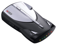 1990-1996 Nissan 300zx Cobra Radar Detector - XRS 9345 - 14 Band High Performance Digital Radar/Laser Detector with UltraBright Data Display