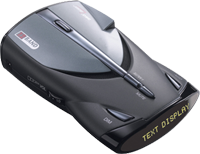 2005-9999 Honda Odyssey Cobra Radar Detector - XRS 9540 - 12 Band High Performance Radar/Laser Detector with DigiView Data Display