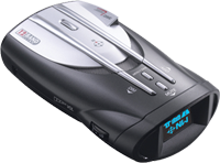 1992-1998 Saab 9000 Cobra Radar Detector - XRS 9840 - 12 Band Ultra Performance Digital Radar/Laser Detector with Cool Blue ExtremeBright DataGrafix Display