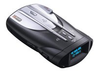 1988-1996 Ford F250 Cobra Radar Detector - XRS 9845 - 15 Band Ultra Performance Digital Radar/Laser Detector with Cool Blue ExtremeBright DataGrafix Display