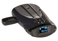 2002-2008 GMC Envoy Cobra Radar Detector - XRS 9860G - 15 Band Ultra Performance Digital Radar/Laser Detector with Cool Blue ExtremeBright DataGrafix Display