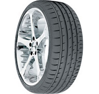 1972-1980 Dodge D-Series Continental ContiSportContact 3 Run Flat 245/45R19 98W BMW RF