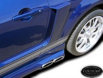 2005-2009 Ford Mustang Couture Scoops - Couture CVX Side Scoops (Urethane)