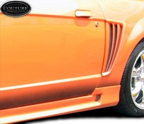 1999-2004 Ford Mustang Couture Colt Body Kit - Side Scoops (Urethane)
