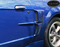 1999-2004 Ford Mustang Couture CVX Body Kit - Side Scoops (Urethane)