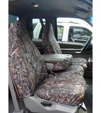 91-00 Ford Explorer - High Back Buckets (Standard Captain's Chair) Covercraft Seat Saver True Timber Camo (Flooded Timber)