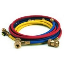 "1967-1969 Chevrolet Camaro CPS Products 72"" R12 Red in-Line Ball Valve Hose"