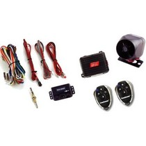 1961-1964 Chevrolet Impala Crime Stopper Standard 1-Way Car Alarm And Keyless Entry Security System With Two 4-Button Remote Transmitters